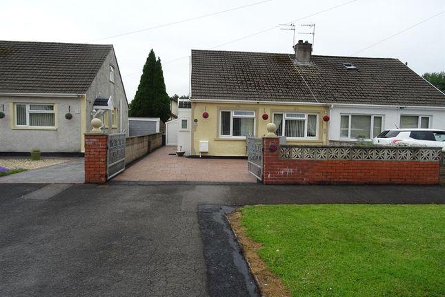 Thumbnail Semi-detached bungalow for sale in Ton Teg, Pencoed, Bridgend