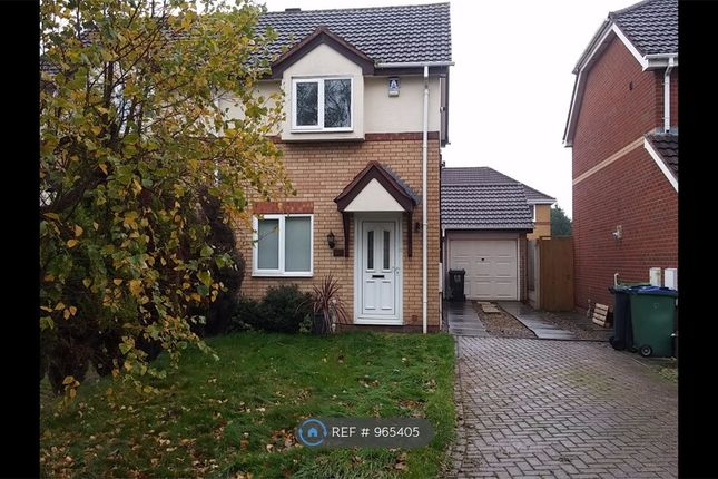Thumbnail Semi-detached house to rent in Hellier Avenue, Tipton