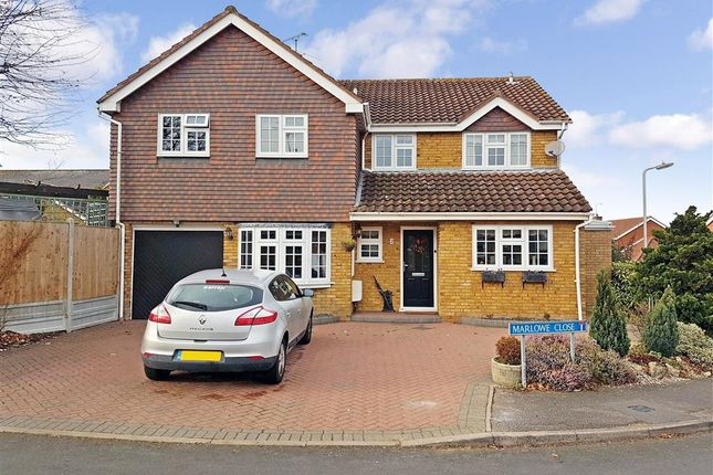 Thumbnail Detached house for sale in Marlowe Close, Billericay, Essex