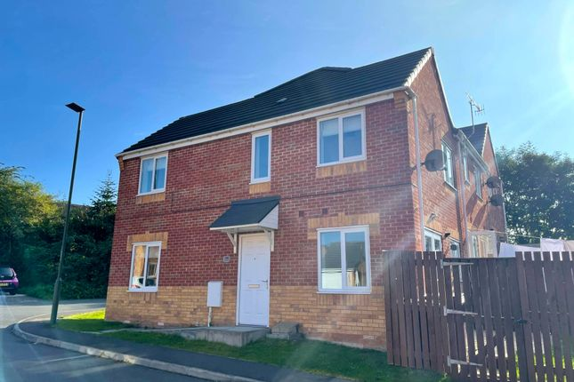 Thumbnail Semi-detached house to rent in Croft House Way, Bolsover