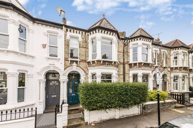 Thumbnail Terraced house to rent in Nansen Road, London