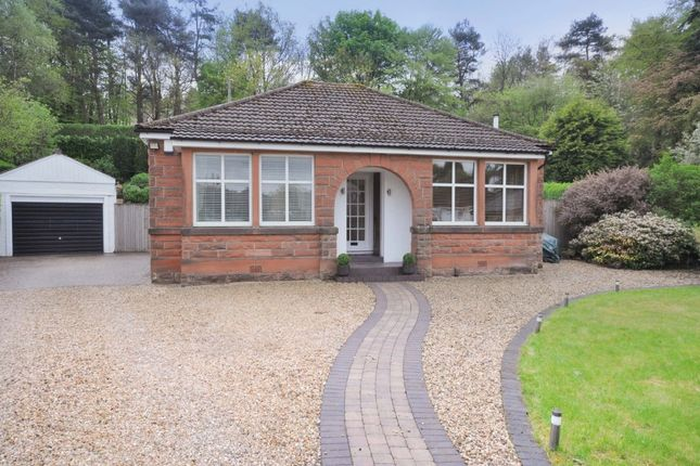 Thumbnail Detached bungalow for sale in Lochview Road, Bearsden, East Dunbartonshire
