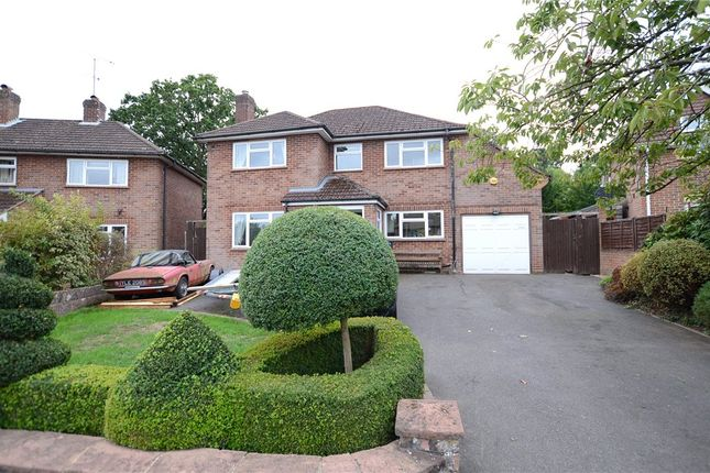 Thumbnail Detached house for sale in Orchard Close, Blackwater, Surrey