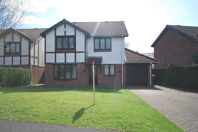 Thumbnail Detached house to rent in Ruskin Avenue, Rogerstone, Newport
