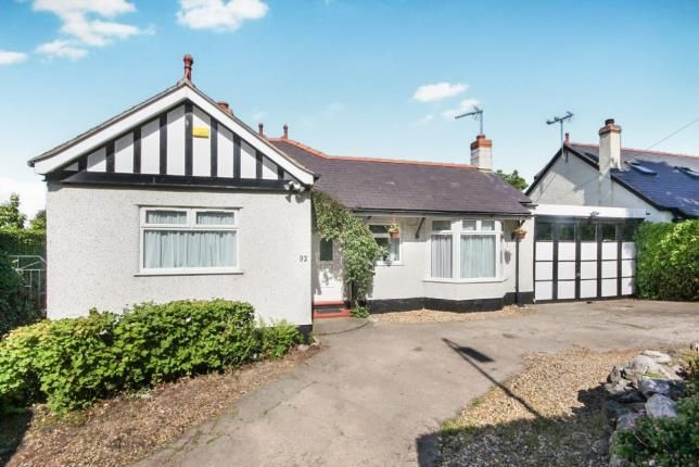Thumbnail Bungalow for sale in Meliden Road, Prestatyn, Denbighshire