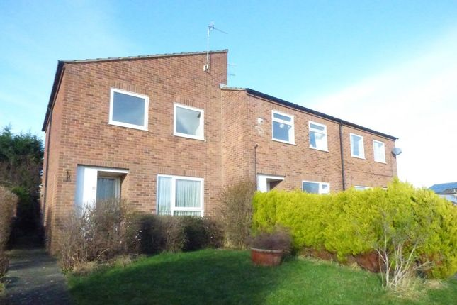 Thumbnail End terrace house to rent in Holmehall Crescent, Chesterfield, Derbyshire