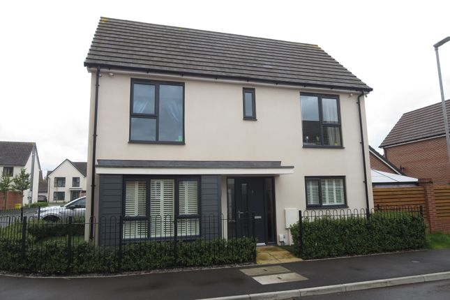 Thumbnail Detached house for sale in James Grundy Avenue, Trentham, Stoke-On-Trent