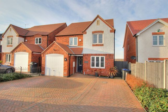 Thumbnail Detached house for sale in Bagworth Road, Nailstone, Nuneaton