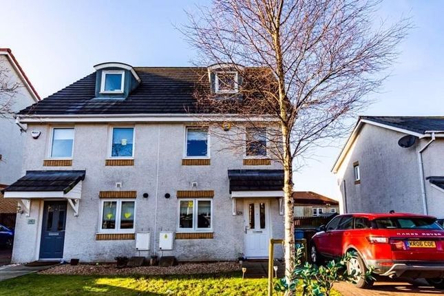 Semi-detached house for sale in Crofton Wynd, Airdrie