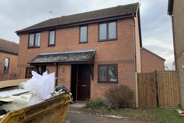 Thumbnail Semi-detached house to rent in Impson Way, Mundford