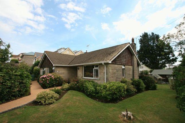 Thumbnail Detached bungalow for sale in St. Boniface Cliff Road, Shanklin