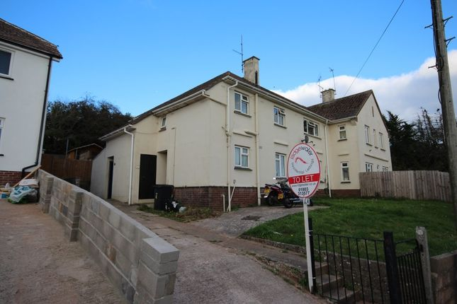 Thumbnail Flat to rent in Hoyles Road, Paignton