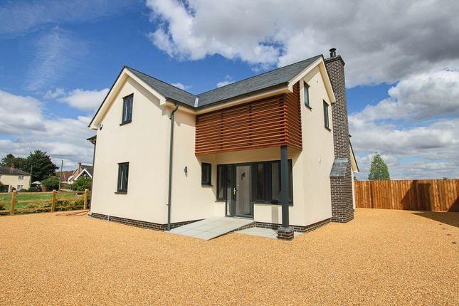 Thumbnail Detached house for sale in Walden Road, Sewards End, Saffron Walden