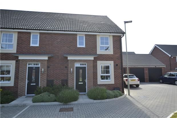 Thumbnail 3 bedroom semi-detached house for sale in Bircher Way, Hucclecote, Gloucester