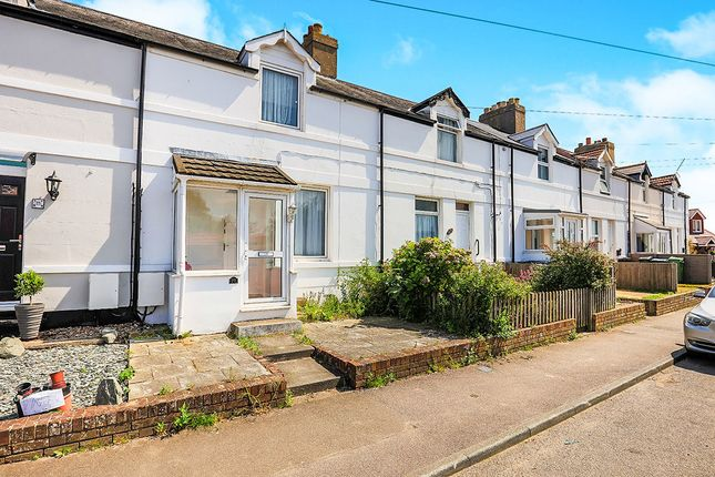 Thumbnail Terraced house to rent in Cross Road, Walmer, Deal