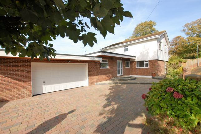 Thumbnail Detached house for sale in Cannongate Road, Hythe
