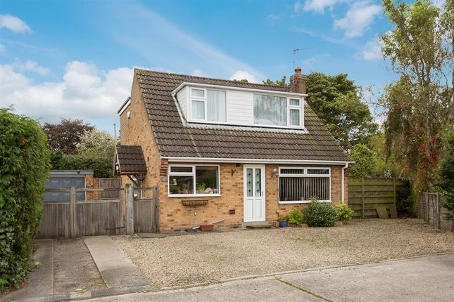 Thumbnail Detached bungalow for sale in Moorland Garth, Strensall, York