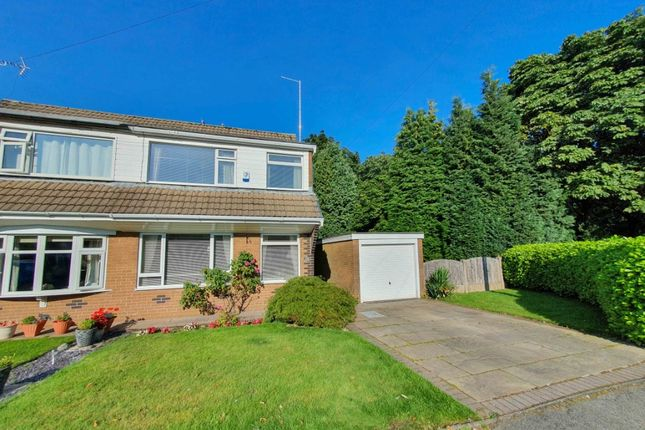 Thumbnail Semi-detached house for sale in Silverdale Drive, Lees, Oldham