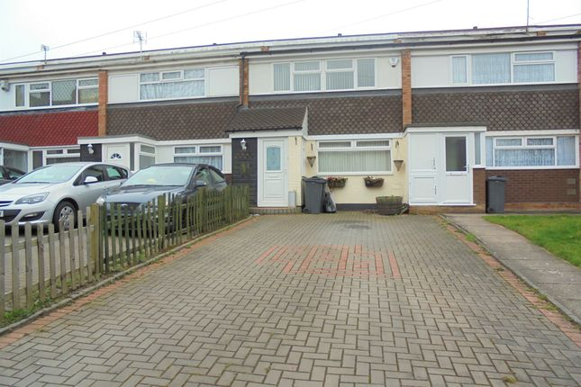 Thumbnail 3 bed terraced house to rent in Glenavon Road, Birmingham