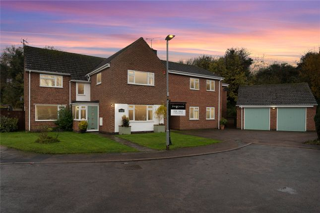 Thumbnail Detached house for sale in White House Close, Leire, Lutterworth