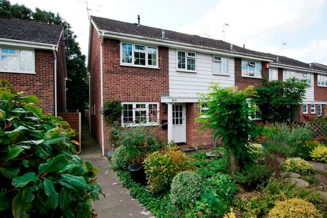 Thumbnail End terrace house for sale in Harebell Close, Hartley Wintney, Hook