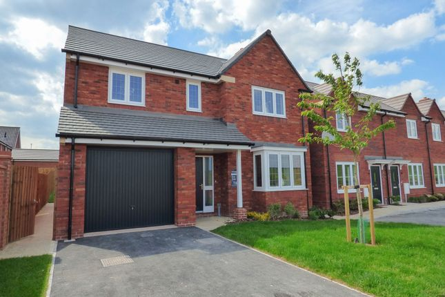 "Thumbnail Detached house for sale in ""The Buckland"" At Deardon Way, Shinfield, Reading RG2, Shinfield,"