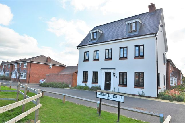 Thumbnail Detached house for sale in Windmill Drive, Hillmorton, Rugby