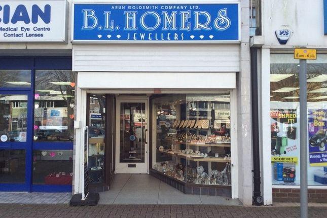 Retail premises for sale in 107 The Street, Littlehampton