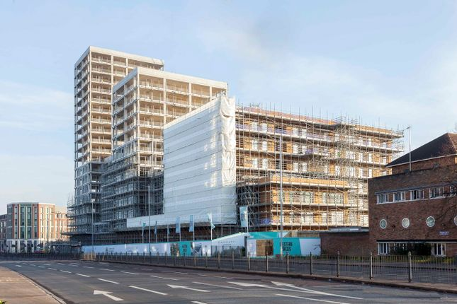 Thumbnail Flat for sale in Western Circus, Western Avenue, Acton, London