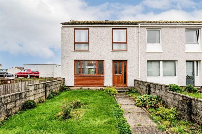 Thumbnail End terrace house for sale in Watchman Brae, Bucksburn, Aberdeen
