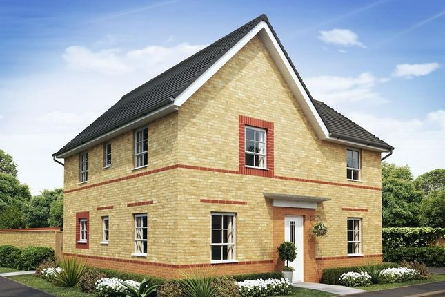 "Thumbnail Detached house for sale in ""Alderney"" at Rosedale, Spennymoor"