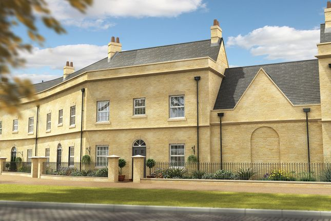 "Thumbnail Terraced house for sale in ""The Alverton"" at Epsom Avenue, Towcester"