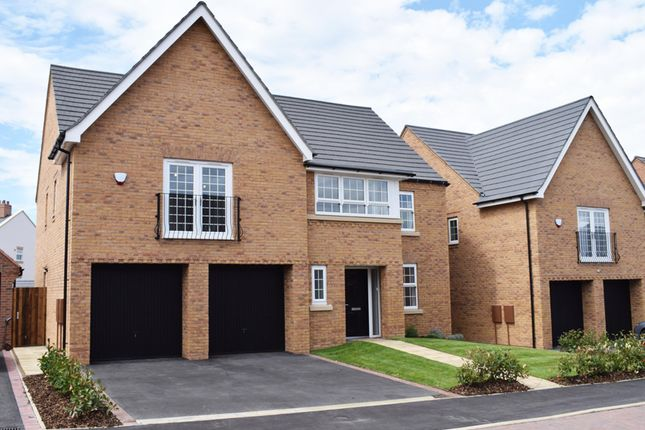 "Thumbnail Detached house for sale in ""Hatherley"" at Tamora Close, Heathcote, Warwick"