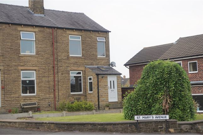 Thumbnail Semi-detached house for sale in Flash Lane, Mirfield