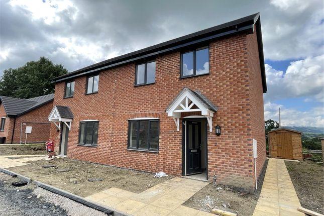 Thumbnail Semi-detached house for sale in Ridgeway View, Churchstoke, Montgomery, Powys