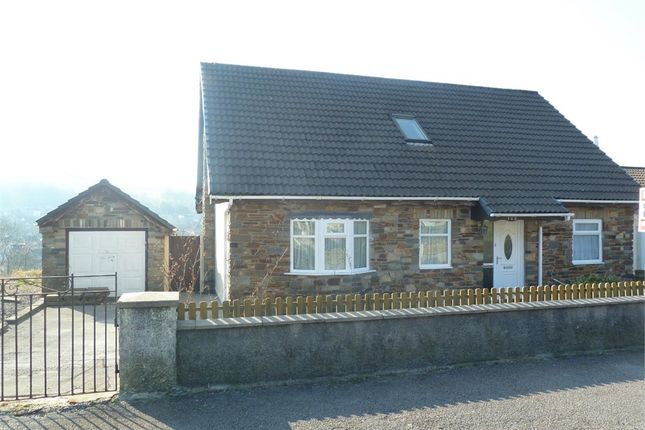 Thumbnail Detached house for sale in Mill View Estate, Garth, Maesteg, Mid Glamorgan