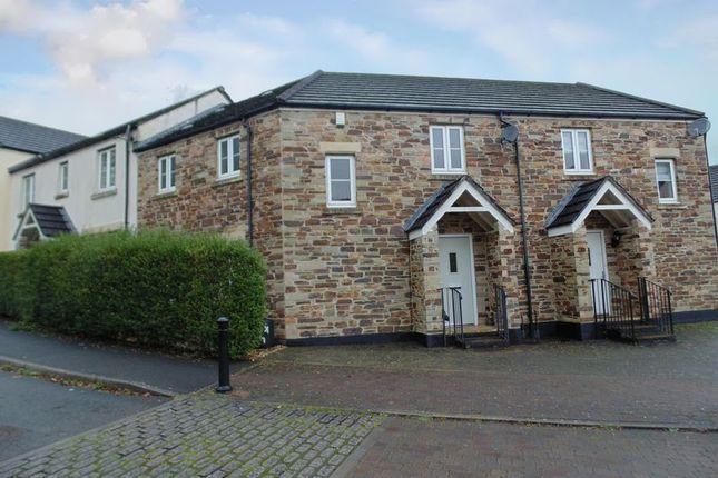 Thumbnail Terraced house for sale in Kestrel Park, Whitchurch, Tavistock