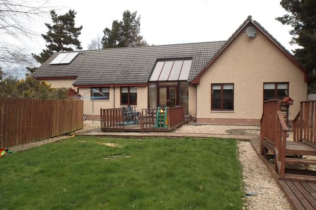 Thumbnail Bungalow for sale in Bracany Park, Fogwatt, Elgin