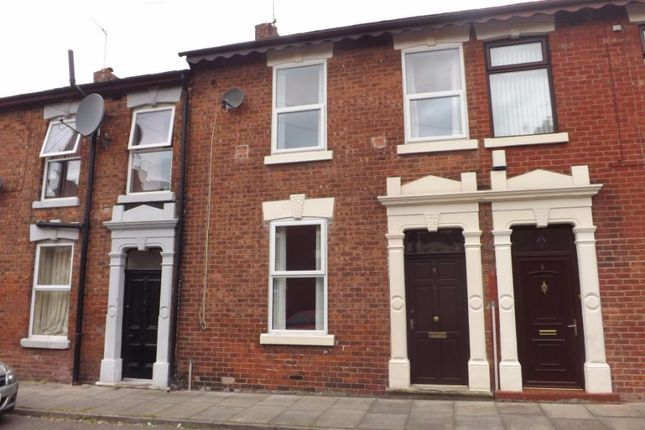 Thumbnail Terraced house to rent in Northcote Road, Preston