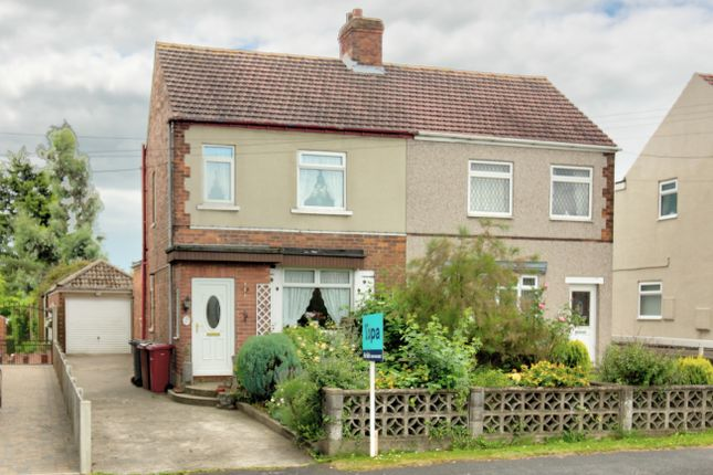 Thumbnail Semi-detached house for sale in Manor Road, Bottesford, Scunthorpe
