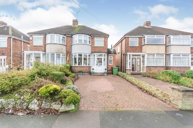 Thumbnail Semi-detached house for sale in Harvard Road, Solihull, West Midlands