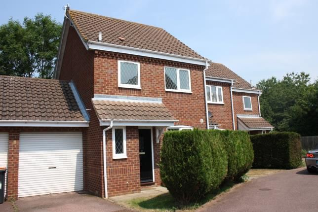 Thumbnail End terrace house for sale in Pinsent Avenue, Bromham, Bedford, Bedfordshire
