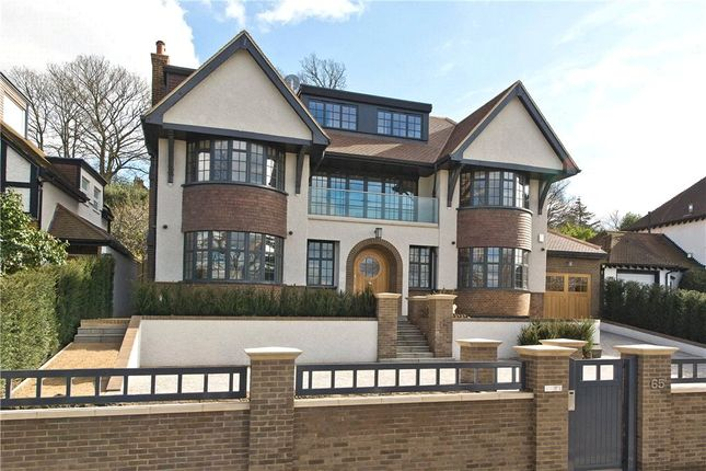Thumbnail Detached house for sale in Home Park Road, Wimbledon