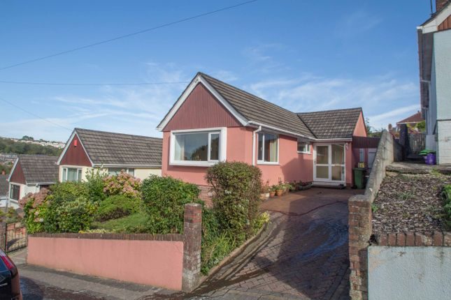 Thumbnail Detached bungalow for sale in Hollycroft Road, Plymouth