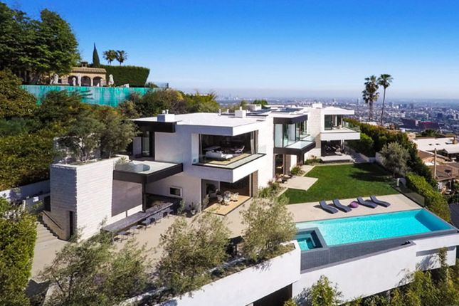 Thumbnail Property for sale in Orlole Way, Hollywood Hills, Los Angeles, 90069