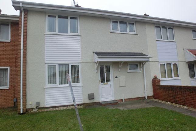 Thumbnail Terraced house to rent in Gwalia Close, Gorseinion, Swansea.