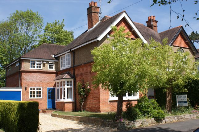 Thumbnail Property for sale in Waldens Park Road, Horsell, Woking, Surrey