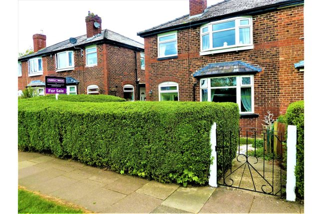 Thumbnail Semi-detached house for sale in Nuthurst Road, Manchester