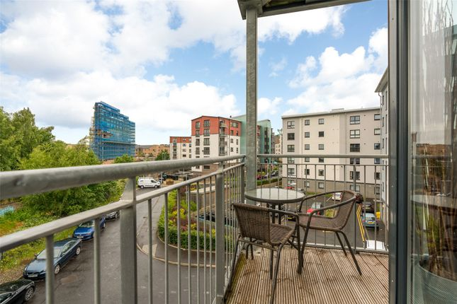 Balcony of Lochend Park View, Edinburgh EH7