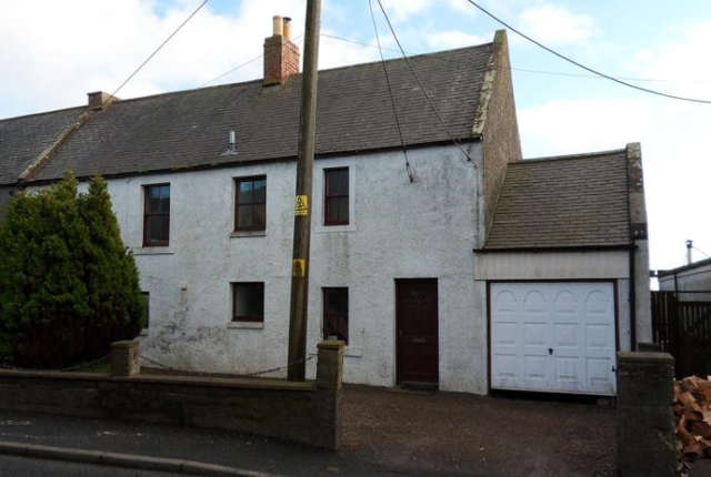 Thumbnail Semi-detached house to rent in 2 Hollybush House, Main Street, Chirnside